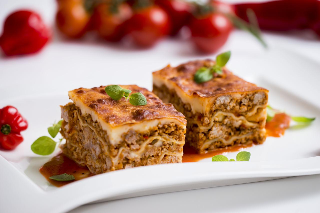 Lasagne z mięsem (400g)