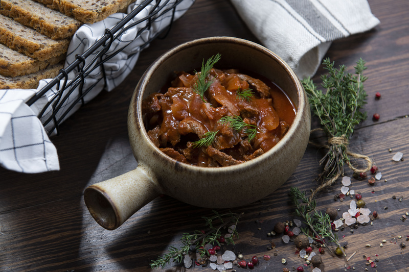 Boeuf Strogonow z mięsem wołowym (0,5 kg)