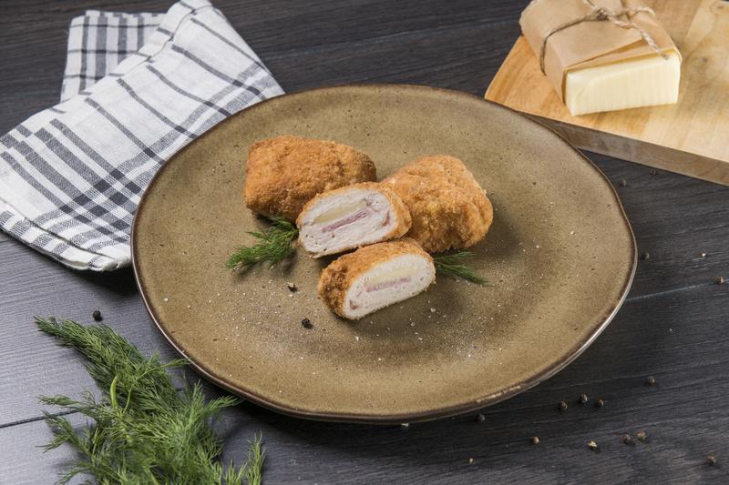 Kotlet cordon bleu z serem i szynką (opakowanie 3 szt.)