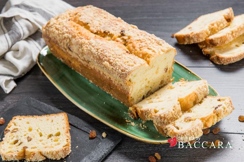 Ciasto drożdżowe z rodzynkami POŁÓWKA (0,4 kg)