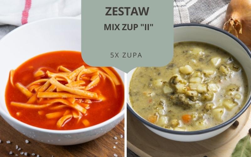 Zestaw obiadowy MIX ZUP II (5 zup)