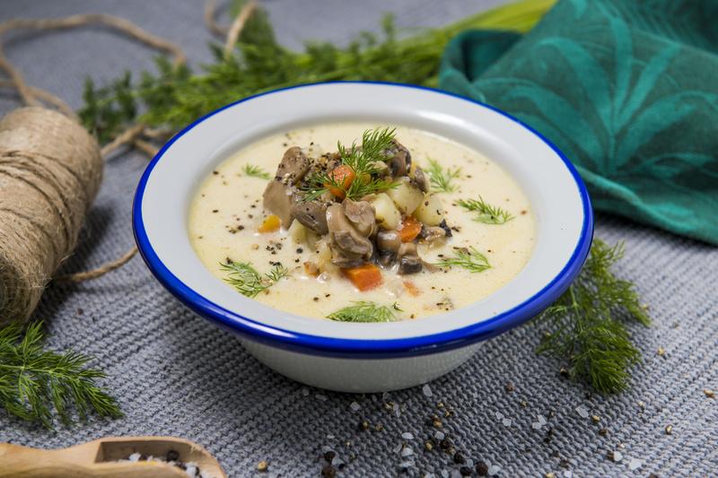 Zupa pieczarkowa z ziemniakami (460ml)