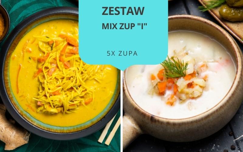 Zestaw obiadowy MIX ZUP I (5 zup)