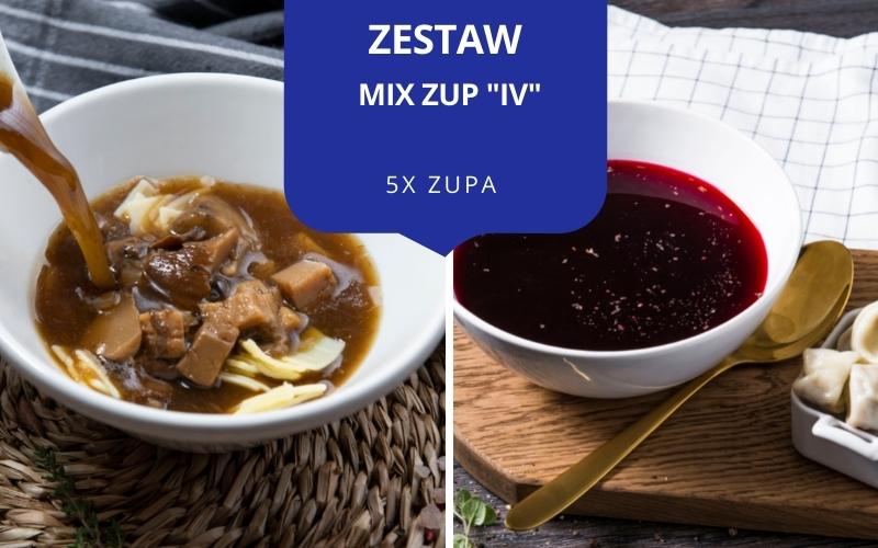 Zestaw obiadowy MIX ZUP IV (5 zup)