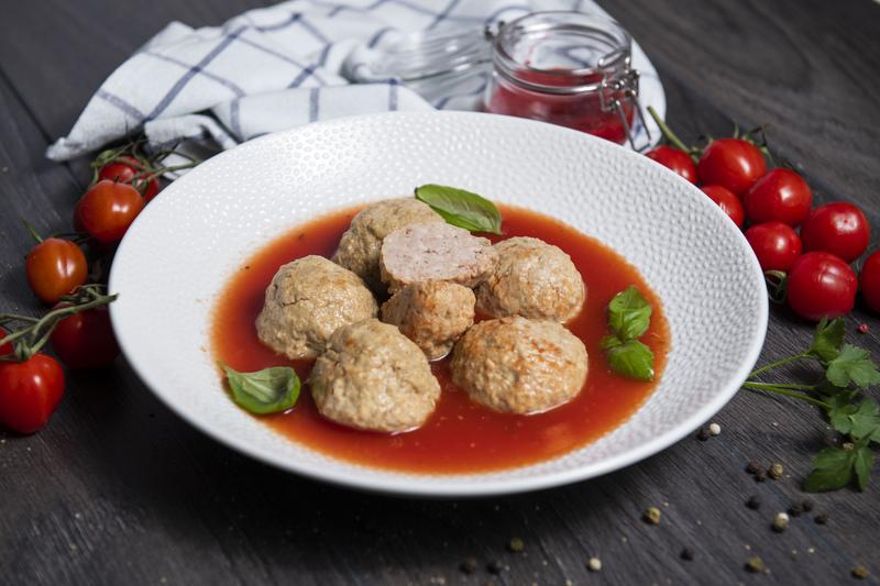 Pulpety w sosie pomidorowym (słoik 730 ml)