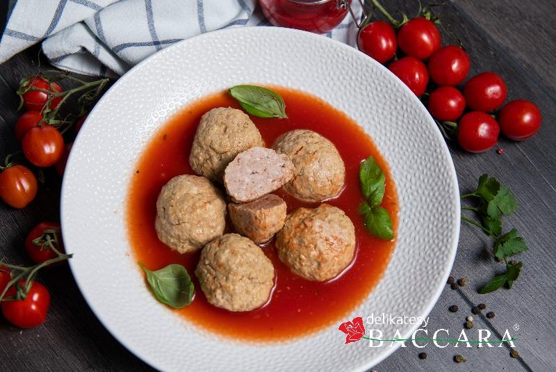 Pulpety z indyka w sosie pomidorowym (słoik 540 ml)