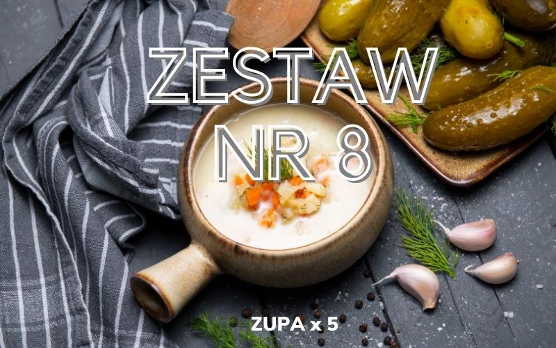 ZESTAW OBIADOWY nr 8 (5x zupa)