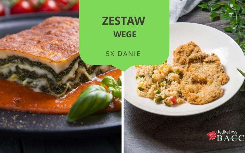 Zestaw obiadowy WEGE MIX (5 dań)