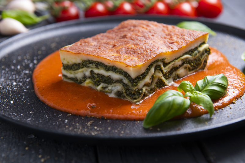 Lasagne ze szpinakiem (400 g)