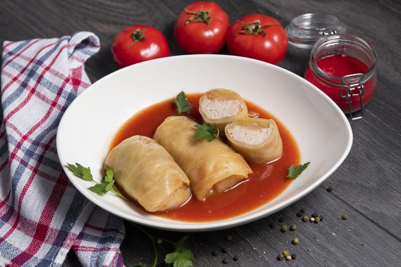 Gołąbki w sosie pomidorowym (słoik 730 ml)