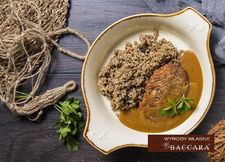 Schab w sosie pieczeniowym (400 g)