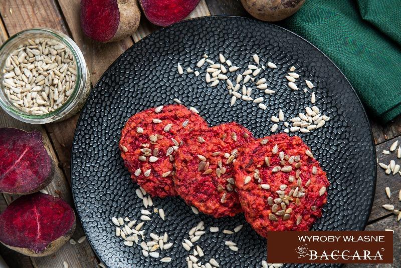 Kotleciki WEGE z buraka - burgery  (opakowanie 4 szt)