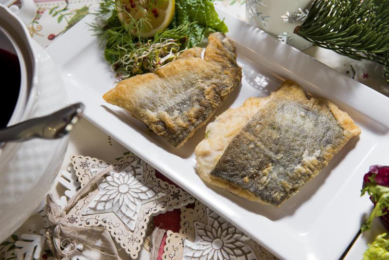 Dorsz smażony (około 0,5 kg - 2 kawałki fileta )