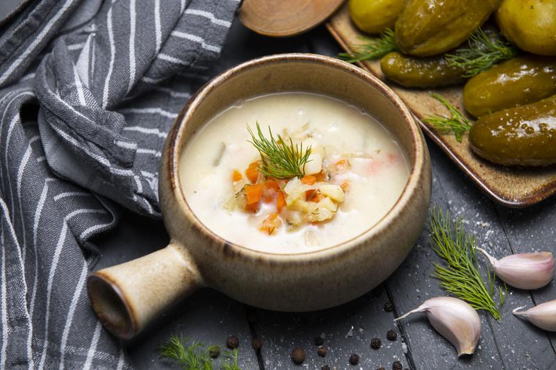 Zupa ogórkowa z koperkiem (460 ml)
