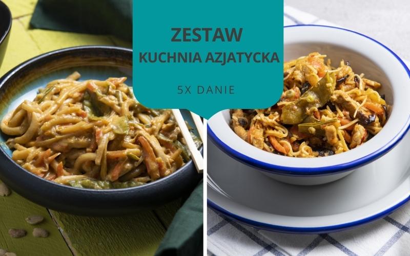 Zestaw obiadowy KUCHNIA AZJATYCKA (5 dań)