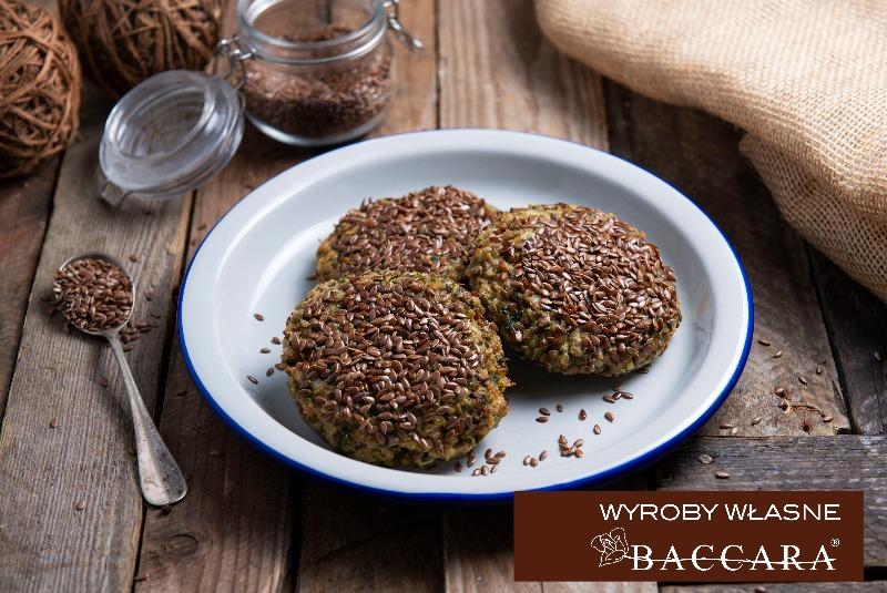 Kotleciki / burgery WEGE z kaszy gryczanej  (opak. 4 szt)