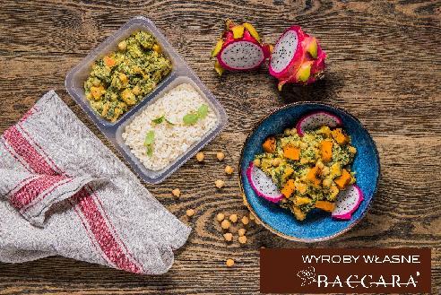 """Curry z batata z ryżem """"Veggie"""" (1 szt)"""